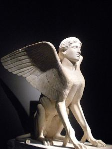 The Sphinx of Lanuvium, British Museum, 120-140 AD