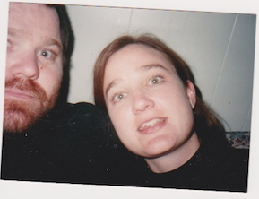 Late-20th-Century Selfie: Thanksgiving, late 90s